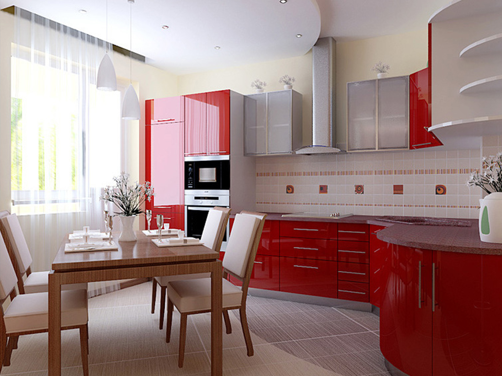 Ремонт дизайн на кухне