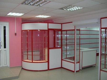 Изготовление и установка витрин