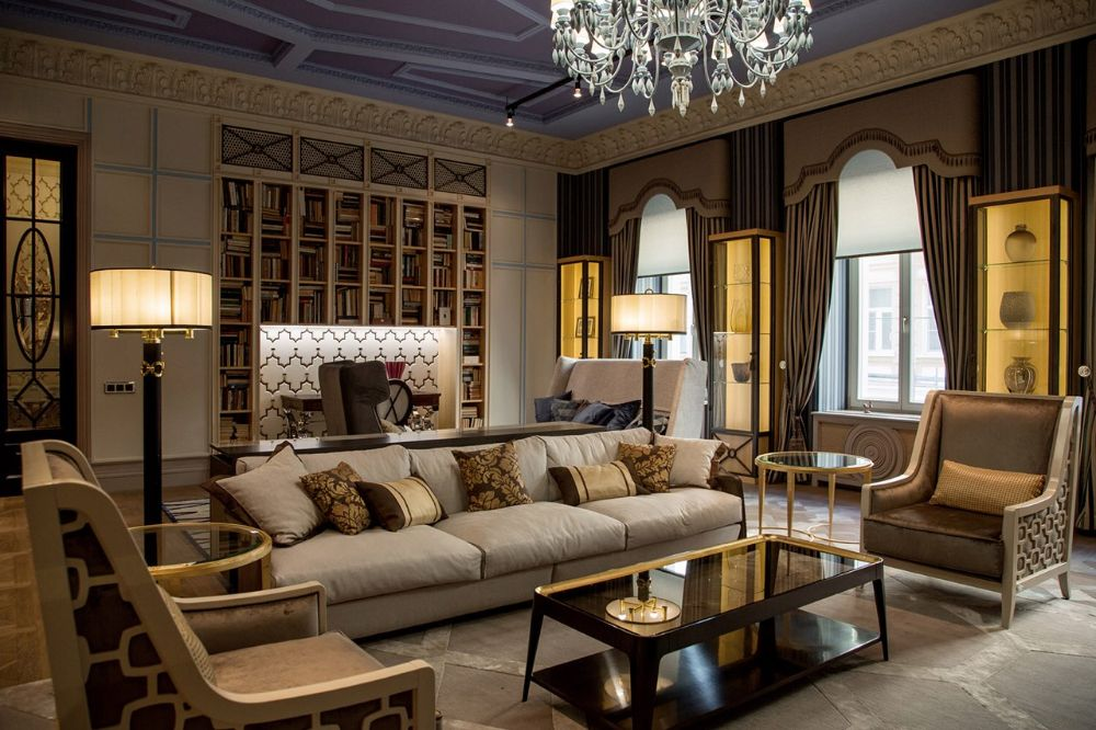 Дизайнерские проекты гостиных