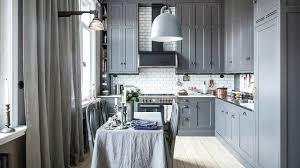 Кухня в сером цвете