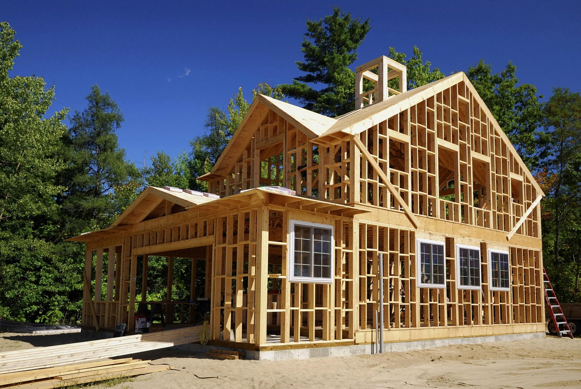 Каркасные дома, их преимущества и недостатки