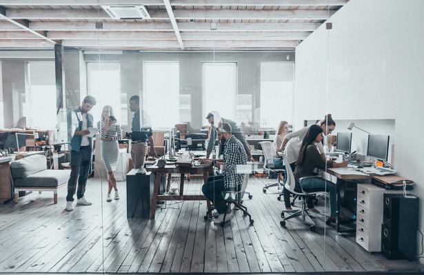 личное пространство в офисе